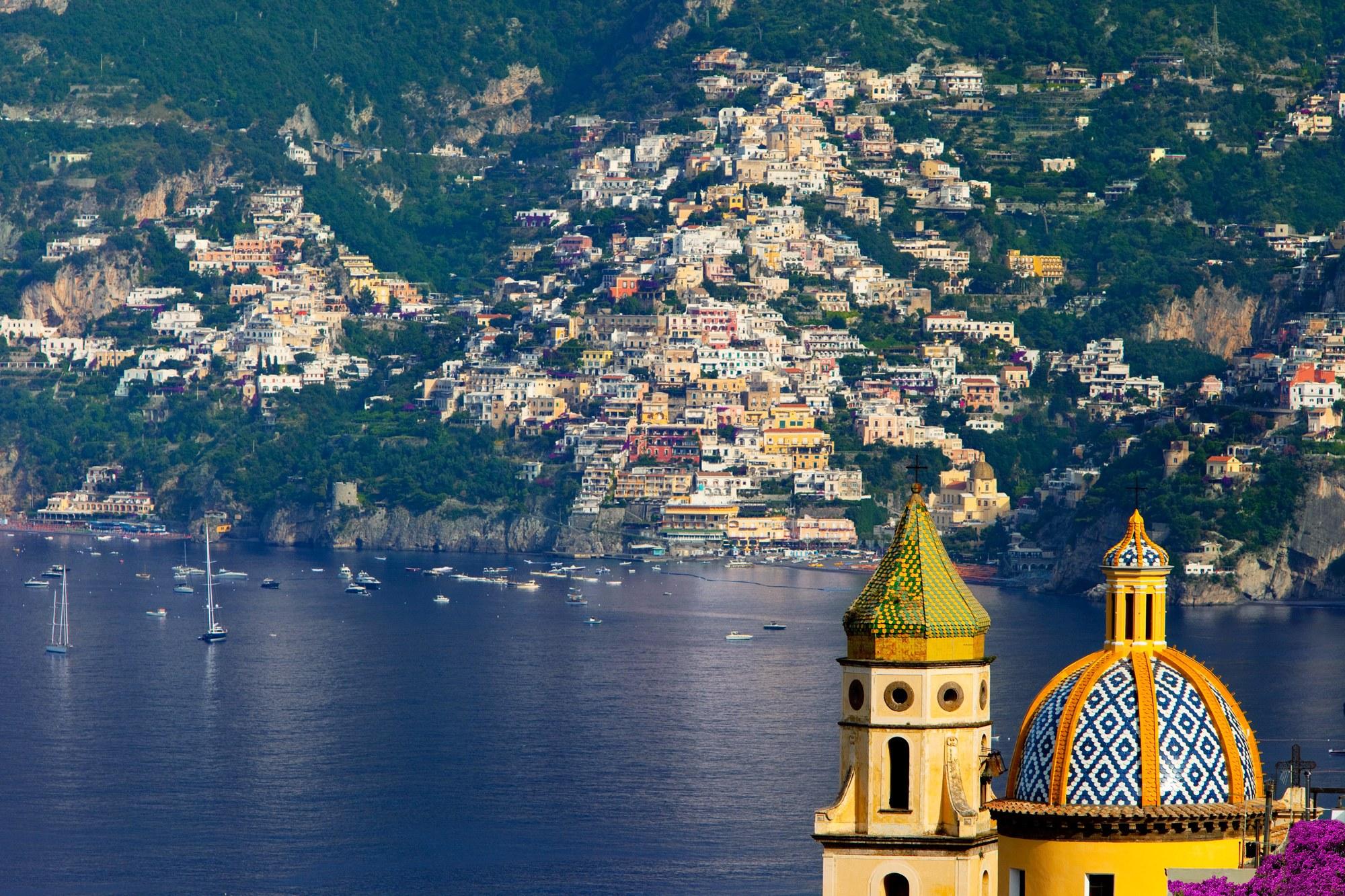 Ravello amalfi and positano acrossrome for Amalfi to positano